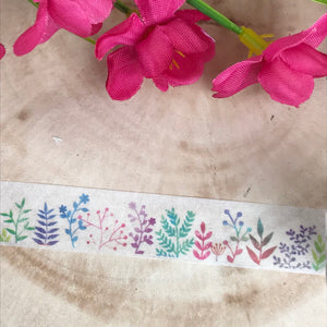 Colourful Plant Washi Tape-7-The Persnickety Co