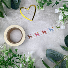 Load image into Gallery viewer, Reindeer Washi Tape