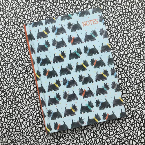 A6 Scotty Dog Notebook-The Persnickety Co