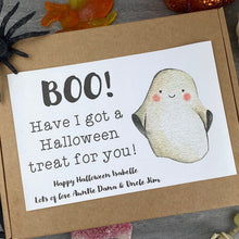 Load image into Gallery viewer, BOO Personalised Halloween Sweet Box-3-The Persnickety Co