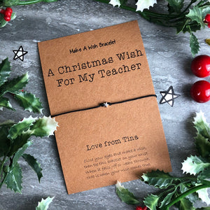 A Christmas Wish For My Teacher-4-The Persnickety Co