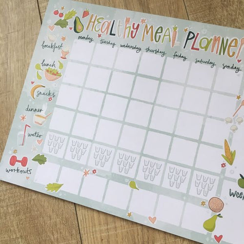 Cheryls Pick of the Month - Healthy Meal Planner-The Persnickety Co