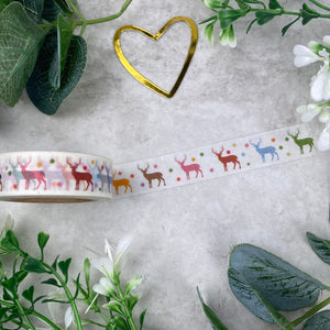 Reindeer Washi Tape-2-The Persnickety Co