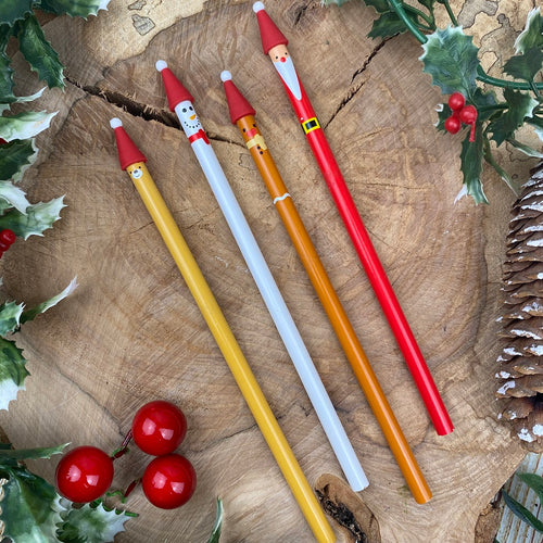 Cute Christmas Pencil-The Persnickety Co
