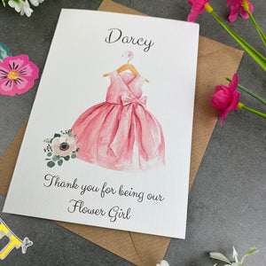 Thank You For Being Our Flower Girl - Pink-7-The Persnickety Co