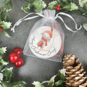 Personalised Christmouse Hanging Decoration-3-The Persnickety Co