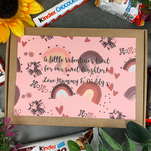 Daughter Kinder Valentines Treat Box-The Persnickety Co