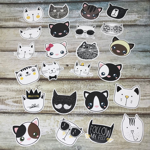 Cat Stickers-The Persnickety Co