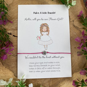 Will You Be Our Flower Girl Wish Bracelet-6-The Persnickety Co