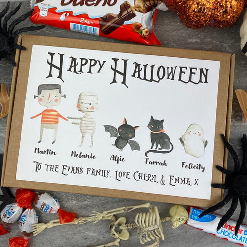 Happy Halloween Personalised Kinder Bueno Box-The Persnickety Co
