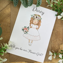 Load image into Gallery viewer, Wedding Card - Will You Be Our Flower Girl?-6-The Persnickety Co