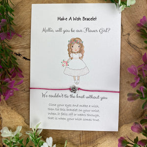 Will You Be Our Flower Girl Wish Bracelet-3-The Persnickety Co