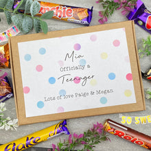 Load image into Gallery viewer, Officially A Teenager Personalised Chocolate Box-5-The Persnickety Co