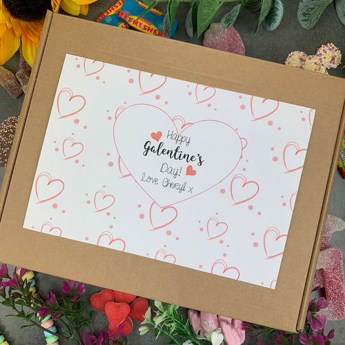 Personalised Galentine's Day Sweet Box-The Persnickety Co