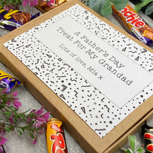 Load image into Gallery viewer, Grandad Fathers Day Treat - Personalised Chocolate Box-7-The Persnickety Co