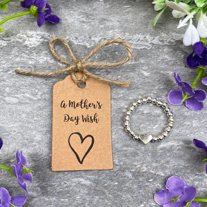 A Mother's Day Wish - Beaded Ring-3-The Persnickety Co