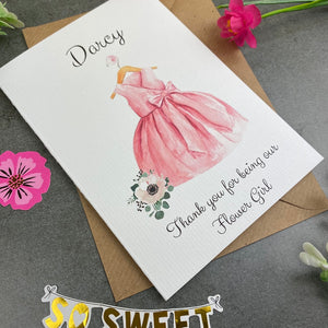 Thank You For Being Our Flower Girl - Pink-2-The Persnickety Co