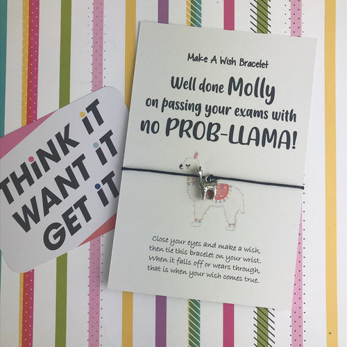 Well Done On Passing Your Exams With No Prob-llama!-The Persnickety Co