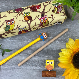 Owl Stationery Set - Yellow-3-The Persnickety Co