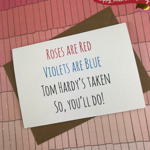 Rose's Are Red Violet's Are Blue, So You'll Do Card-8-The Persnickety Co