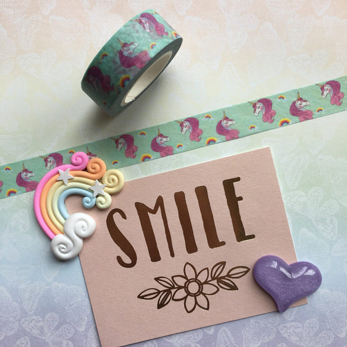 Unicorn and Rainbows Washi Tape-The Persnickety Co