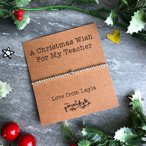 A Christmas Wish For My Teacher-3-The Persnickety Co