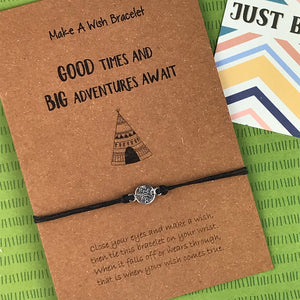 Good Times and Big Adventures Await Wish Bracelet-3-The Persnickety Co