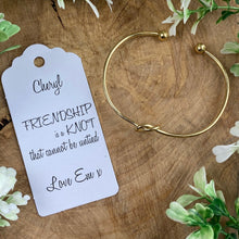 Load image into Gallery viewer, Friendship Is A Knot Bangle-8-The Persnickety Co