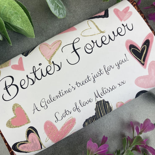 Besties Forever Galentine's Day Chocolate Bar-The Persnickety Co