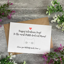 Load image into Gallery viewer, Happy Valentine's Day To The Most PURR-fect Cat Mum/Cat Dad Card-9-The Persnickety Co