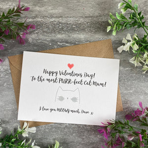 Happy Valentine's Day To The Most PURR-fect Cat Mum/Cat Dad Card-9-The Persnickety Co