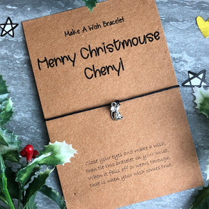 Merry Christmouse Wish Bracelet-9-The Persnickety Co