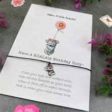 Load image into Gallery viewer, Have A Koalaty Birthday Wish Bracelet-7-The Persnickety Co