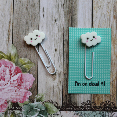 Cloud Paper Clip-The Persnickety Co