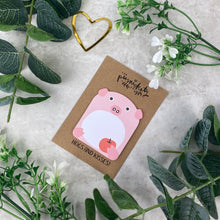 Load image into Gallery viewer, Cute Pig Sticky Note-The Persnickety Co