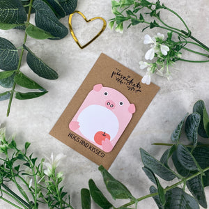 Cute Pig Sticky Note-The Persnickety Co