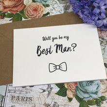 Load image into Gallery viewer, Will You Be My Best Man?-7-The Persnickety Co