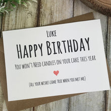 Load image into Gallery viewer, Personalised Humorous Birthday Card-7-The Persnickety Co