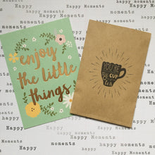 Load image into Gallery viewer, You're My Cup Of Tea Mini Kraft Envelope with Tea Bag-The Persnickety Co