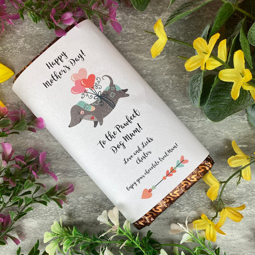 Pawfect Dog Mum Mother's Day Chocolate bar-The Persnickety Co