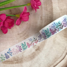 Load image into Gallery viewer, Colourful Plant Washi Tape-5-The Persnickety Co