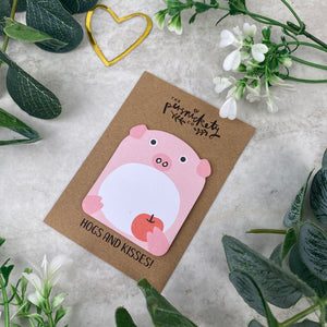 Cute Pig Sticky Note