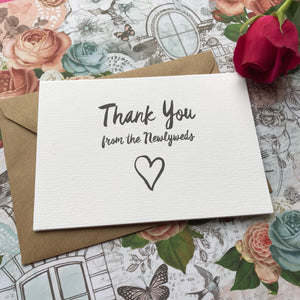 Thank You Wedding Card-7-The Persnickety Co