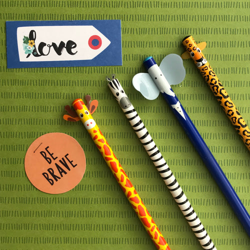Cute Animal Pencils-The Persnickety Co
