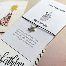 Load image into Gallery viewer, Happy Birthday with Rhinestone Star Charm-2-The Persnickety Co
