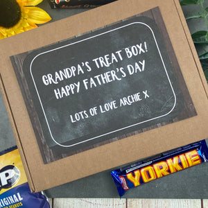 Father's Day Gift - Grandpa's Treat Box