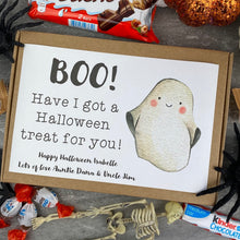 Load image into Gallery viewer, BOO! Personalised Halloween Kinder Bueno Box-9-The Persnickety Co