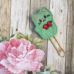 Felt Cat Paper Clip-3-The Persnickety Co