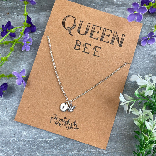 Queen Bee Necklace-The Persnickety Co