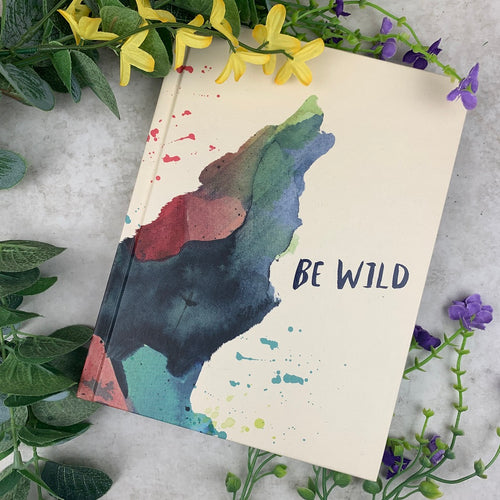 Be Wild Hardcover Journal-The Persnickety Co